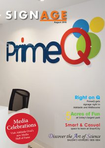 Ochre Digital and Trio sign solutions showcase recent signage and printing projects in the SIGNAGE magazine.
