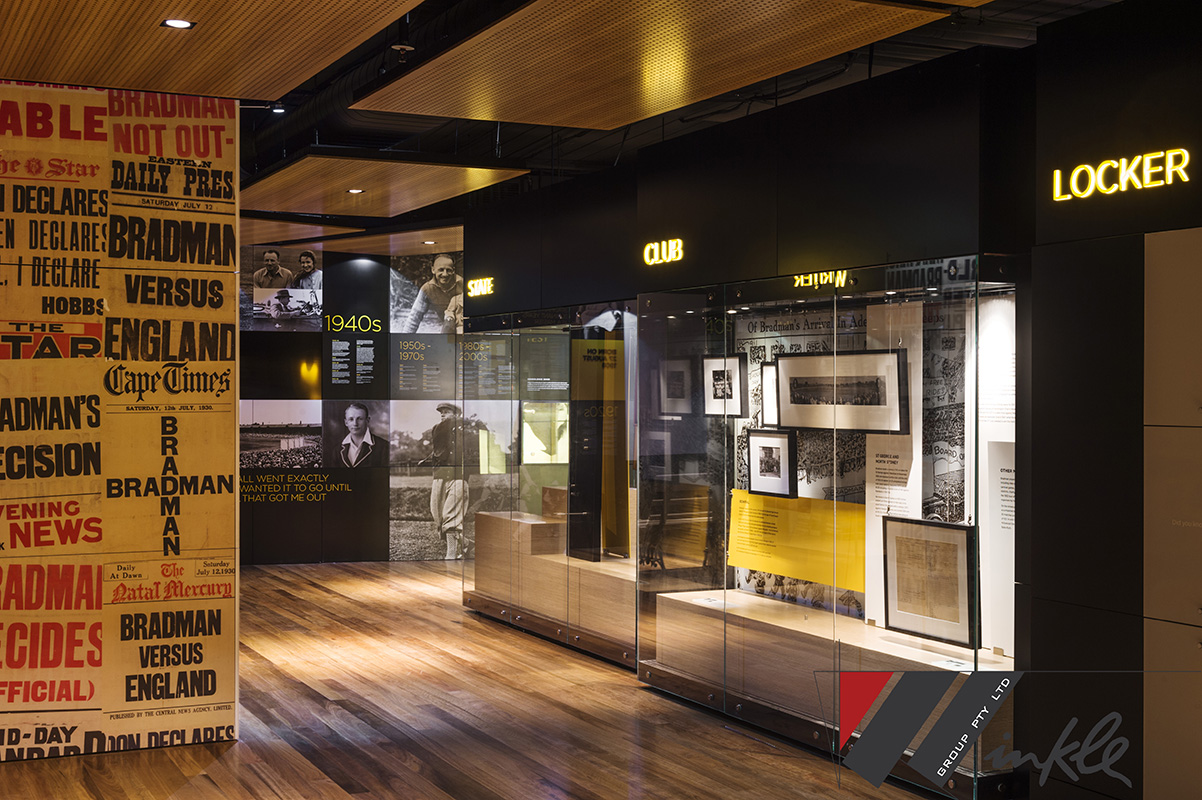 About the Project & Sir Donald Bradman Museum \u2013 Ochre Digital