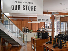 Jacob's Creek | interior retail printing & signage
