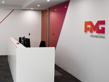 FMG Engineering | office & reception signage